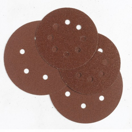 "150mm 6""  7-Hole and 15-Hole Velcro Sanding DA Discs (box 100)"