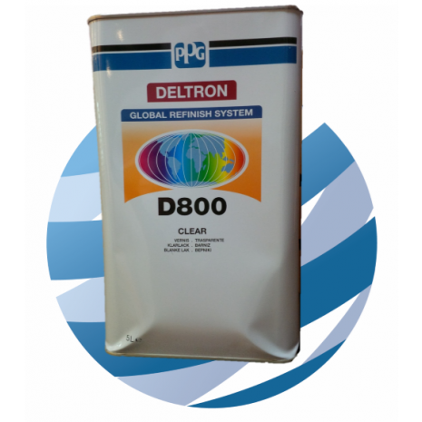 PPG D800 Clearcoat 5Ltr