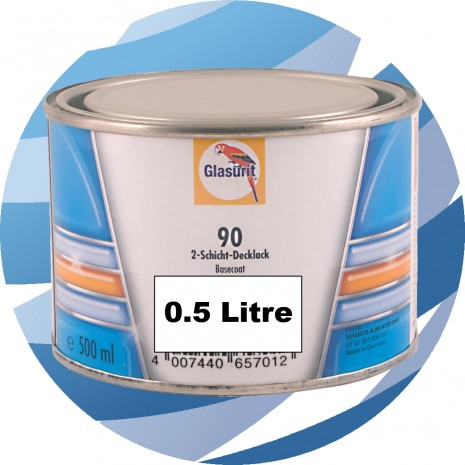 90-A378 Red Glasurit Waterbased 90 Line Tinter 0.5 Litre