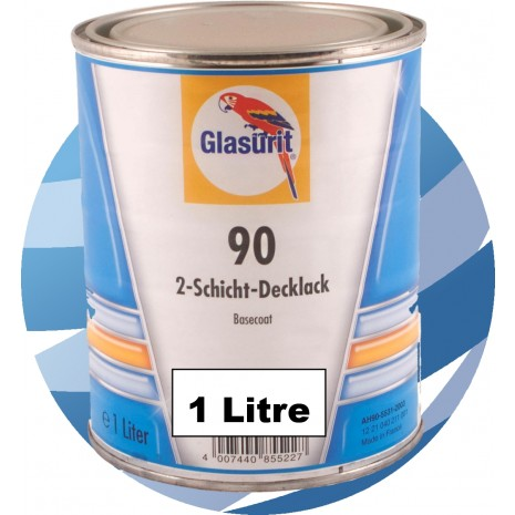 90-A349 Red Glasurit Waterbased 90 Line Tinter 1 Litre