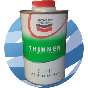 00741 Lechler Thinner Medium Speed - 1 Litre