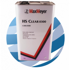 0300 Max Meyer HS Clearcoat Lacquer 5L