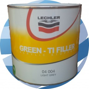 Green TI Filler Lechler 040004 Light Grey - 2.5 Litre