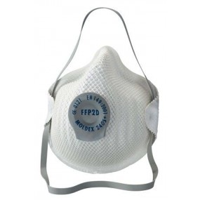 Moldex 2405 FFP2D Dust Masks with valve