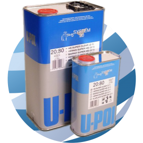 U-Pol 2080 Super Clear Coat (2:1) 5ltr