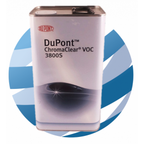 3800S DuPont Chromaclear VOC Lacquer Clearcoat 5Ltr