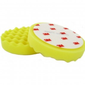 3M™ Perfect-It™ III Polishing Pad Yellow (50488) - for Extra Fine Compound, 2 Pad Pack.