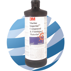 Boat Polish - 3M™ Marine Imperial™ Compound & Finishing Material (06044), 950 ml