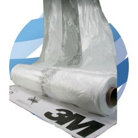 3M™ Clear Masking Film, 4 m x 150 m Roll (07838)
