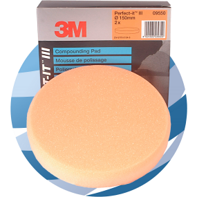 09550 3M™ Perfect-It™ III Compounding Pads, 150 mm, 2 pads
