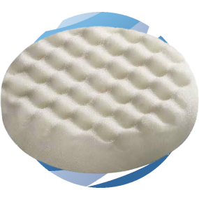 Festool Polishing Pad for RO90 - White Honeycombed - Pk5