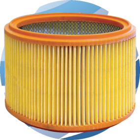 Dynabrade Paper Cartridge Filter for Dust Extractor