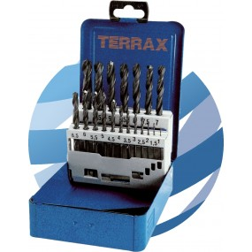 19pc HSS Drill Bit Set