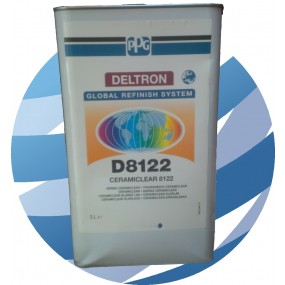D8122 PPG Ceramiclear Lacquer Clearcoat 5 Litre