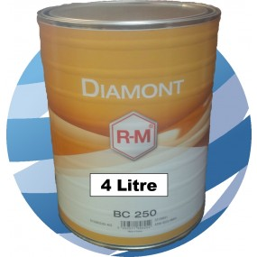 BC170 Medium Aluminium RM Diamont Basecoat Car Paint 4 Litre