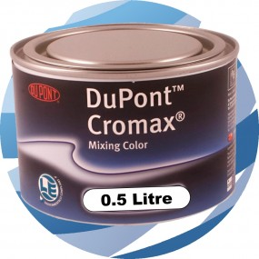 1443W Bright Yellow DuPont Cromax Waterbased Tinter 0.5 Ltr