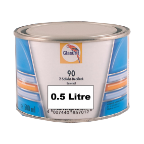 90-M99-07 Aluminium Extra Coarse Glasurit Waterbased 90 Line Tinter 0.5 Litre