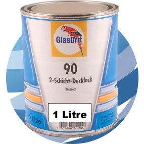 90-M99-08 Brilliant Silver Glasurit Waterbased 90 Line Tinter 1 Litre