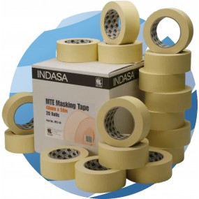 Indasa Masking Tape Box Quantities