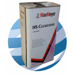 0200 Max Meyer HS Clearcoat Lacquer 5ltr
