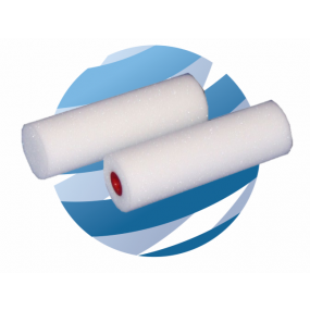 "4"" Roller Refill Foam Double Ended (10)"