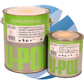 U-Pol High Build 3:1 Primer 1Ltr & 3Ltr