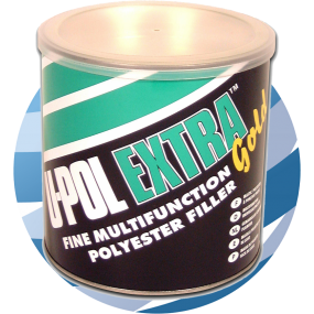 U-Pol EXTRA GOLD™ Extra Smooth Easy Sand Body Filler 2.1Ltr