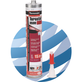 TEROSON TEROSTAT 8599 DIRECT GLAZING SEALANT 310ML - 15 Minutes DRIVE AWAY